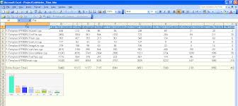 Microsoft Excel Report Templates Report Exles Projectcodemeter Software Sizing For Outsourcing