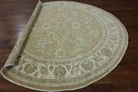 oriental wool peshawar 9 u0027 round rug