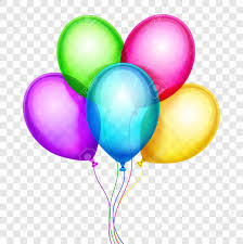 helium birthday balloons vector colorful balloons birthday decoration isolated on