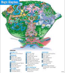Disney World Orlando Park Map by Disney World Magic Kingdom Map Jpg