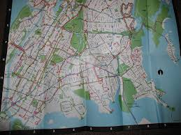 Bus Map Nyc 1977 Bronx Bus Map New York City Bus Nyc Transit Forums