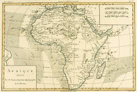 africa map drawing map of africa drawing by guillaume raynal