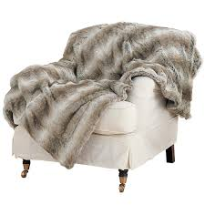 Restoration Hardware Faux Fur Faux Fur Throw Arctic Fox Small Oka