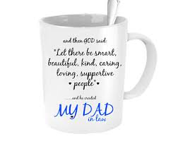 father in law mug father of the groom gift from bride father