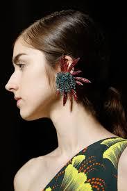 mr t feather earrings byelisabethnl jewelry catwalk earrings s s 2018 that will