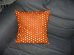 coussins orange coussin orange à pois la boutique de madame margotte