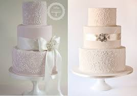 wedding cake tutorial lace piping for wedding cake designs cake magazine