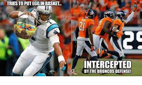Broncos Defense Meme - triesto puteggin basket memes intercepted by the broncos defense