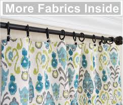 pair peacock curtain panels kiwi green navy blue curtains ikat