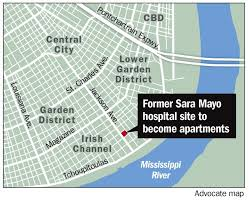 New Orleans Garden District Map by City Council Approves Plans To Redevelop Sara Mayo Hospital
