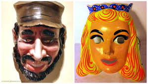 old fashioned halloween masks cold war halloween envisioning the american dream