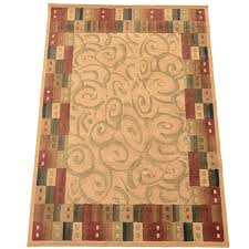 Synthetic Area Rugs Contemporary Synthetic Area Rug From The Rug Gallery Ebth