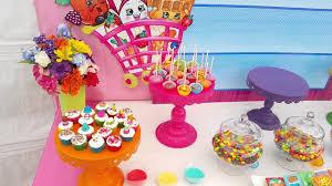 candy buffet shopkins youtube
