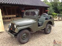jeep kaiser cj5 1970 willys jeep m3841