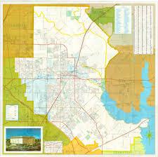 Texas Cities Map Garland Landmark Society City Map Garland Texas 1972