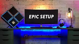 my ultimate gaming pc desk tour youtube