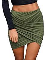 Draped Skirts Amazon Com Gojane Women U0027s Drape Up Asymmetrical Skirt Clothing