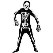 skeleton 2nd skin costume all halloween mega fancy dress