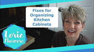 fixes for organizing kitchen cabinets clutter video tip youtube