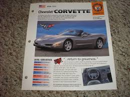 1998 chevrolet corvette specs 40 best 1992 to 2002 corvette brochure and ad images on
