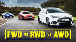 Bmw M3 Awd - awd vs fwd vs rwd focus rs civic type r m140i track battle