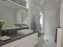 White And Gray Bathroom by Gray Bathroom Cabinets Contemporary Bathroom Tamara Mack Design