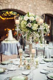 wedding candelabra centerpieces reception décor photos silver candelabra centerpiece with
