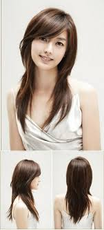 printable hairstyles for women pictures shaggy hairstyle korean black hairstle picture
