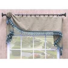Inexpensive Window Valances Tab Top Window Valance Maybe For The Kids Ocean Themed Bathroom