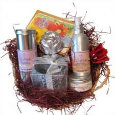 christmas gift packages s day spa gift packages made from organic ingredients