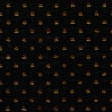 Upholstery Drapery Fabric Ebony Black Woven Antique Gold Chenille Small Scale Upholstery