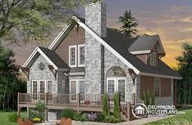 cottage house panoramic view house plans from drummondhouseplans