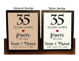 35th anniversary gift 35th anniversary gift 35th wedding anniversary gift gift