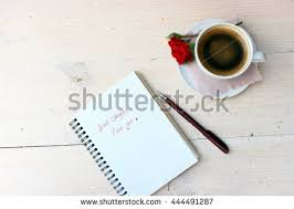 good morning message love person writing stock photo 445654147