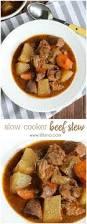 slow cooker beef stew lil u0027 luna