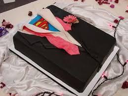 Grooms Cake Superman Grooms Cake