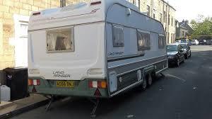 5 Berth Caravan With Awning Avondale Land Ranger 5900 Twin Axle 4 Berth Caravan 1996 Model