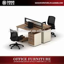 High Quality Computer Desk Computer Desk Parts High Quality Melamine Metal Leg Glass Scree