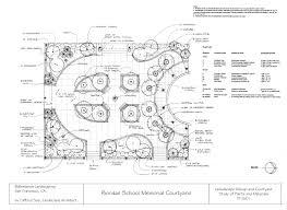 Courtyard Planning Concept Page 2 U2013 Samples Clifford See Landscape Architecture Portfolio