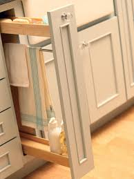 Kitchen Cabinets With Pull Out Drawers Spice Racks For Cabinets Pictures Ideas U0026 Tips From Hgtv Hgtv