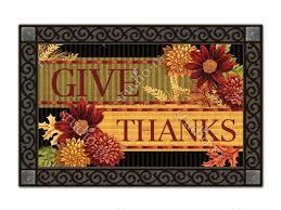 thanksgiving doormat thanksgiving indoor outdoor doormats by matmates