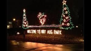 nay aug park christmas lights bright holiday lights at nay aug park pahomepage