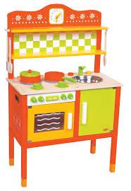 Pretend Kitchen Furniture by Lelin Wooden Wood Childrens Kids Pretend Play Saffron Kitchen