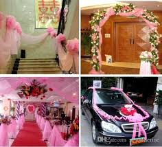 wedding decoration supplies 2016 car bumper guard guard 59 width wedding decorative tulle yarn