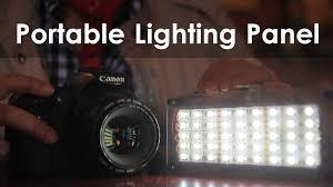 Led Photography Lights How To Make A Diy Super Bright Portable Led Light Lensvid