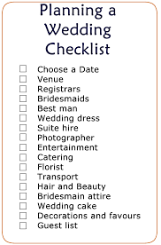 wedding checklist printable wedding checklist