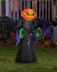 pumpkin reaper kid airblown inflatable u2013 spirit halloween evil