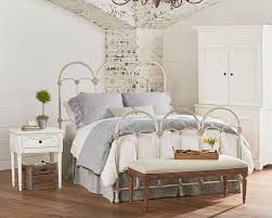 Bedrooms With Metal Beds French Inspired Bedroom With Rosette Iron Bed Magnolia Home