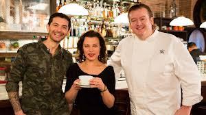 italian lunch meet u0026 greet with debi mazar gabriele corcos u0026 chef