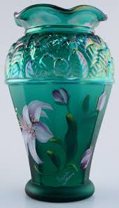 fenton glass collectibles fenton glass collectible green